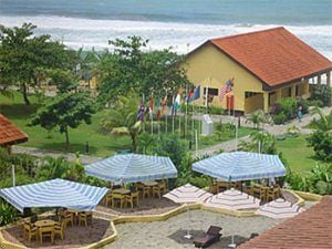 View of Busua Beach Resort