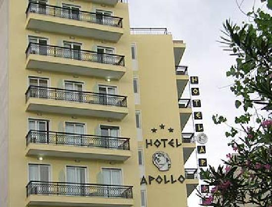 View of Apollo Hotel